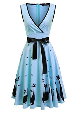 Vintage Cat Dresses