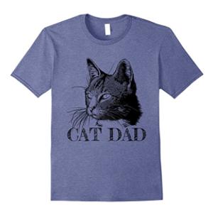 cat dad tshirt mens