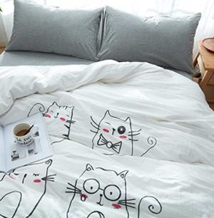 cat duvet covers
