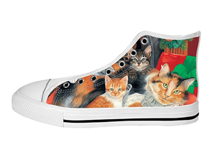 3edc49a1b7bdf 26 Of The Coolest Pairs Of Men's Cat Shoes For Cat Dads! – Meow As Fluff