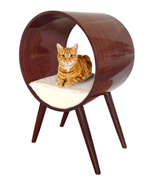 mid century modern cat beds condos scratchers