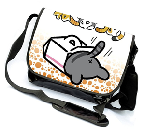 cat messenger bag