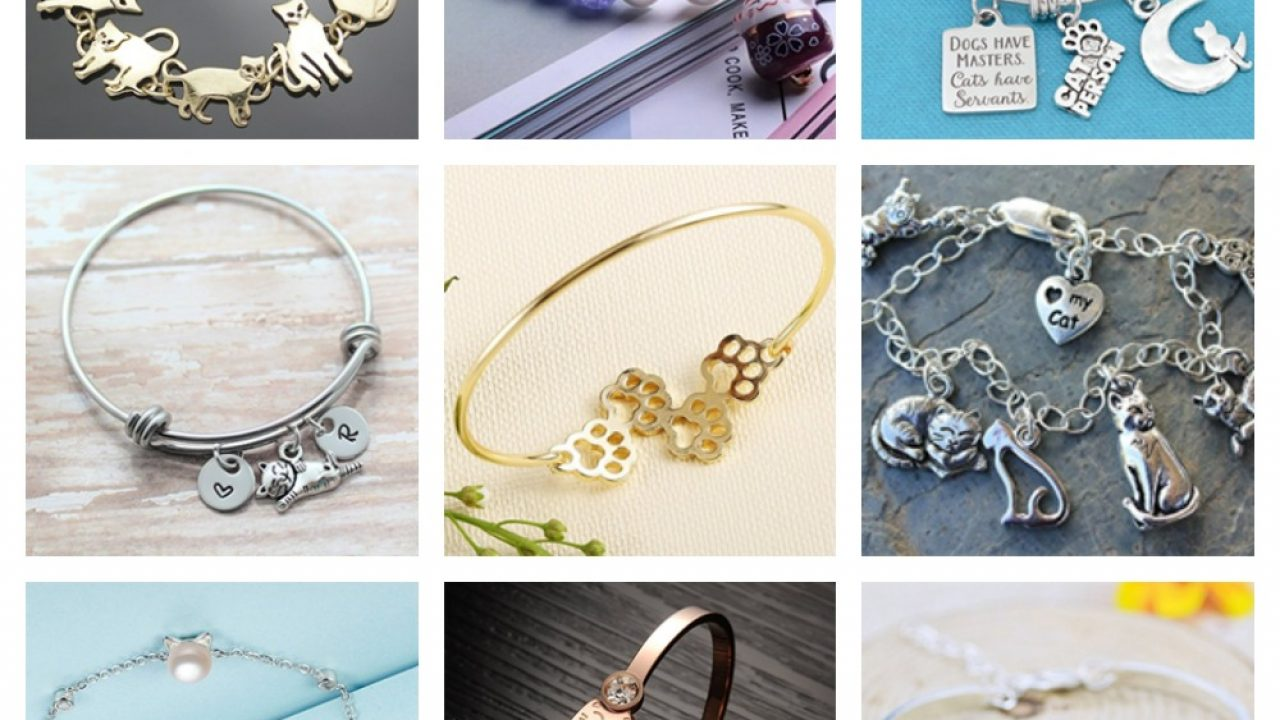 4cc3059f843 Beautiful Bracelets For Cat Lovers! – Meow As Fluff