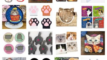 cat coasters feature