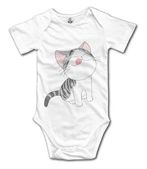 Cat Baby Newborn Infant Creeper Sleeveless Romper Bodysuit Onesies Jumpsuit Black
