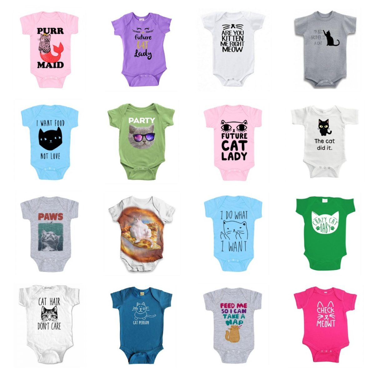 7 Colours 3-24 Months Baby T-Shirt I Love My Sisters