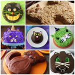 halloween cat cakes feature