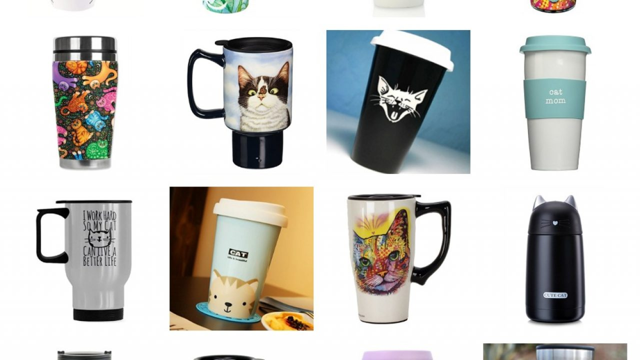 2574d646009 Travel Cups & Mugs For Cat Lovers! – Meow As Fluff