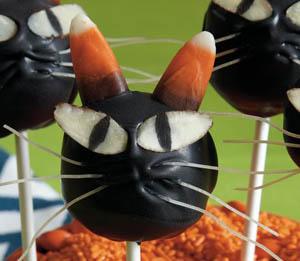 halloween cat cake pop recipe