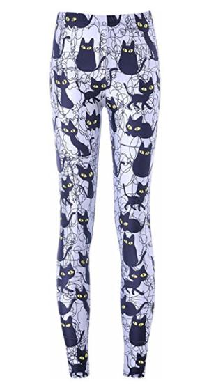 womens cat leggings