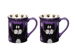 set cat mugs couples