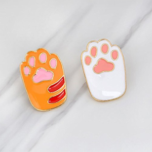 enamel cat pins