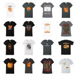 fall cat tshirts feature