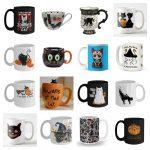 halloween cat mugs feature