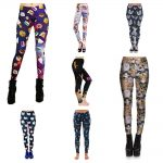 womens cat leggings feature