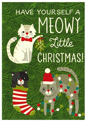 Sets Of Christmas Cards For Cat Lovers! \u2013 Meow As Fluff