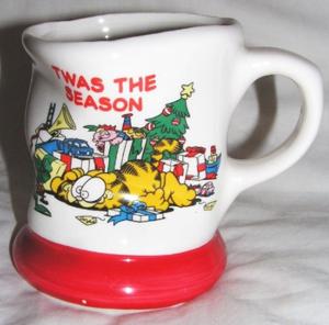 Lovers– Christmas For Fluff Festive Meow Cat Mugs As E92DHI