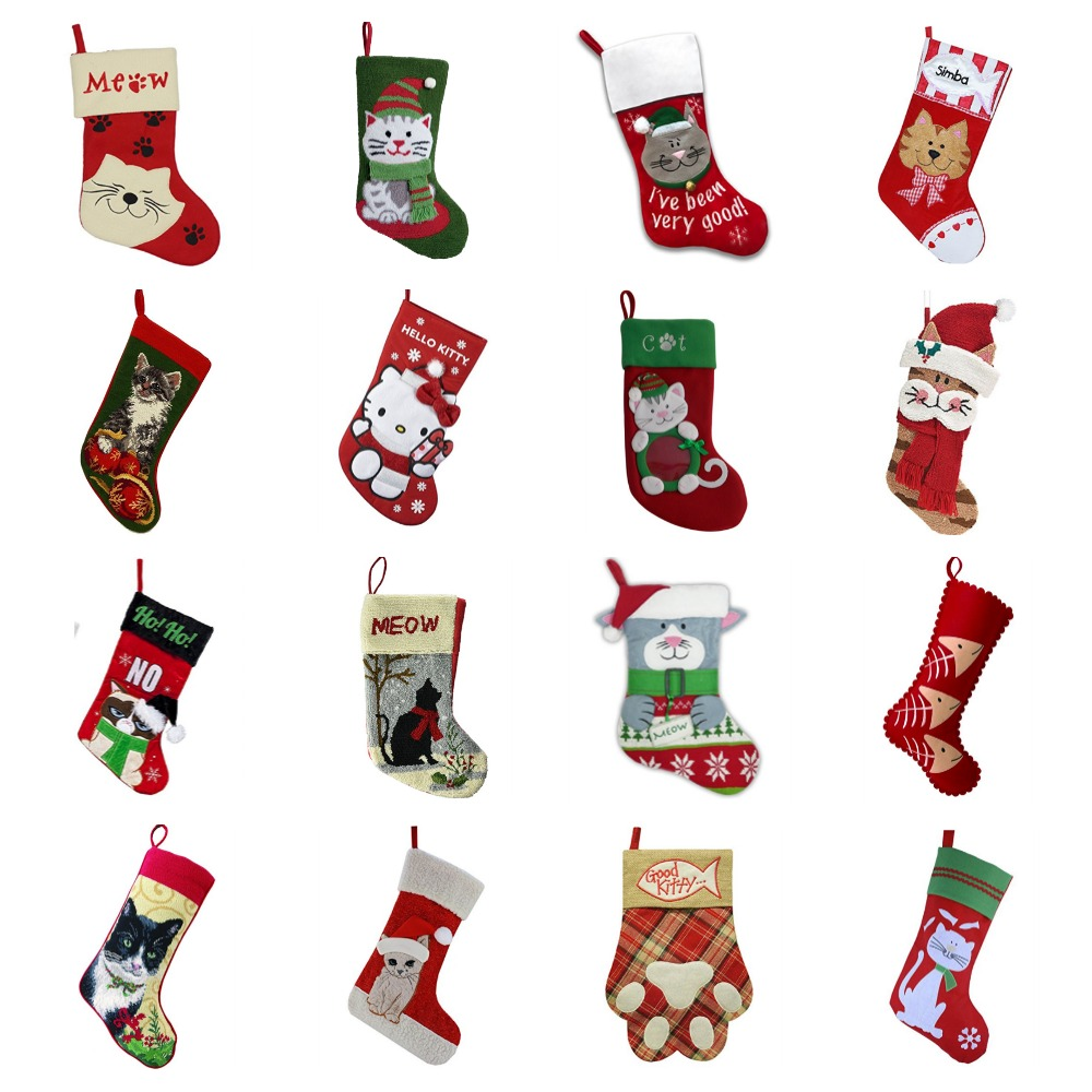 Cat Christmas Stockings.Cat Christmas Stockings For Kitties The People Who Love