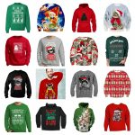 cat christmas sweatshirts men feature