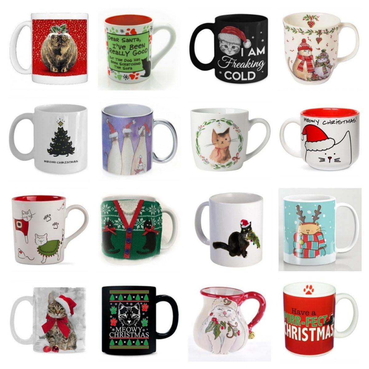 Funny Mugs Lets Eat Kitty Punctuation Saves Cats Christmas MAGIC NOVELTY MUG