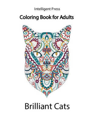 cat adult coloring books
