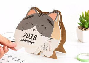 2018 cat desk calendars
