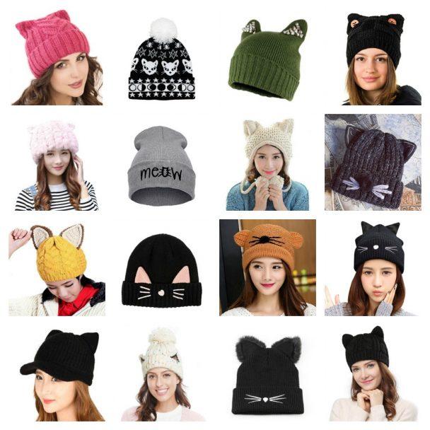 cat hats women winter feature