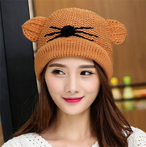 94d9ef0323a Women s Cat Hats To Keep You Warm This Winter! – Meow As Fluff