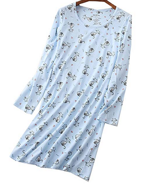 f92d502dba Cute Cat Nightshirts For Women Who Love Kitties! – Meow As Fluff