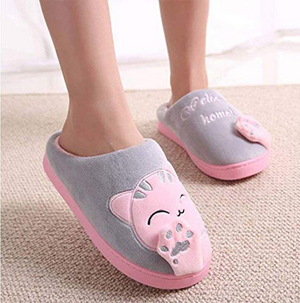 ceba51bc0164c Slippers For Women Who Love Cats! – Meow As Fluff