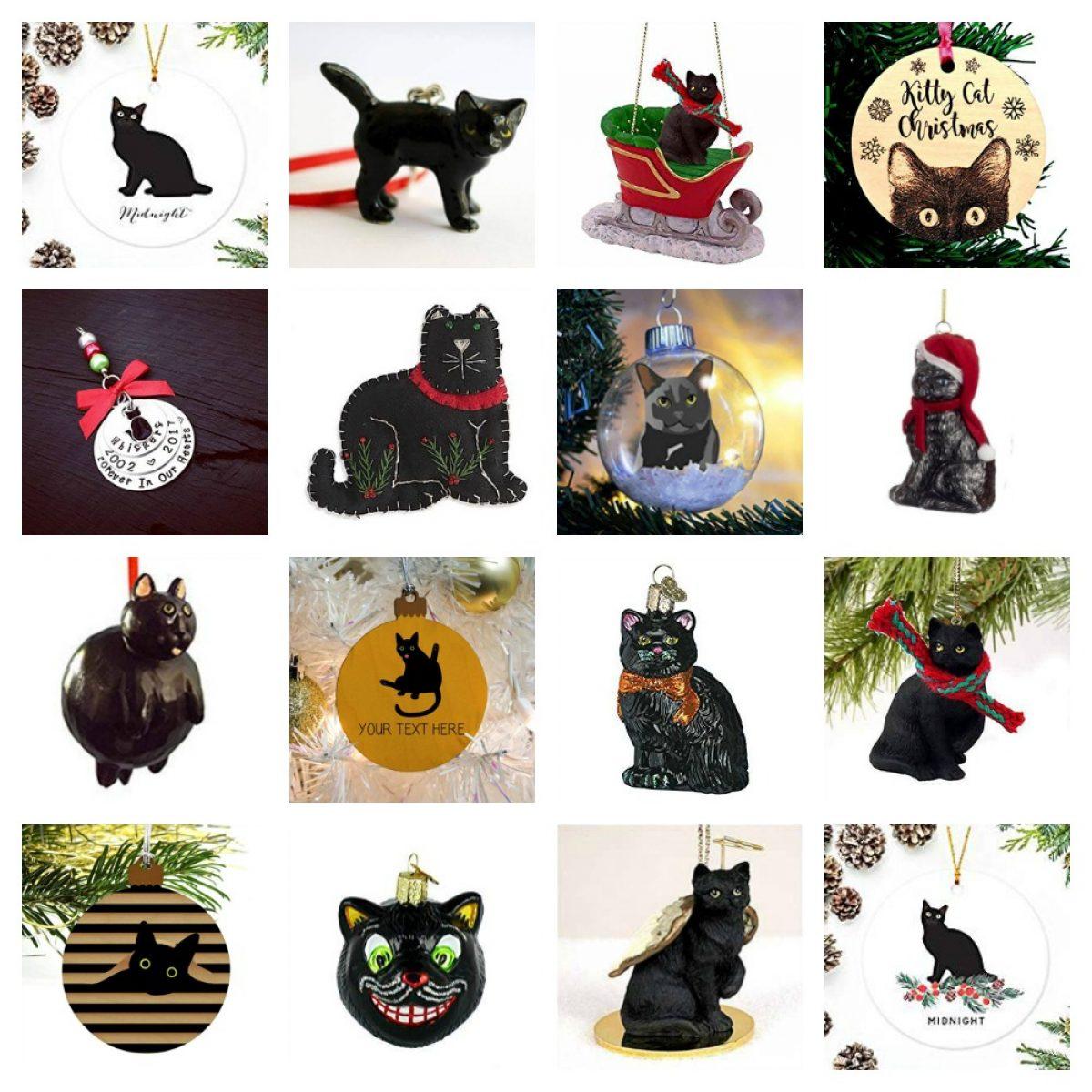 Custom Felt Cat Ornament Small Ornaments Home & Living tbts.com.mx