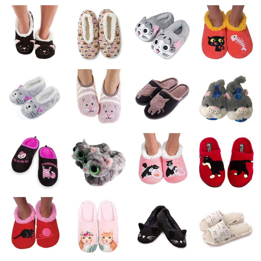 165b749e0e2 Slippers For Women Who Love Cats! – Meow As Fluff