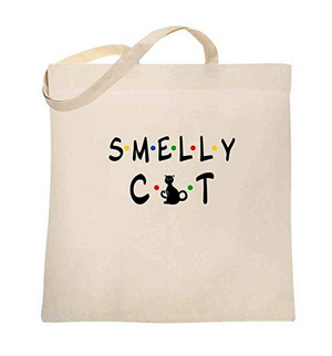 627dd6f353 Cotton Canvas Tote Bags For People Love Cats! – Meow As Fluff