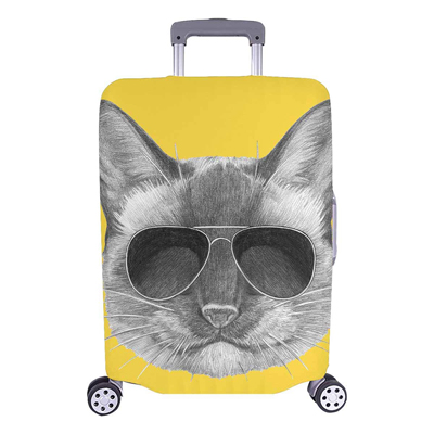 a47be55bd699 Cat Luggage Covers For People Who Love Kitties! – Meow As Fluff